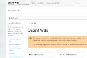 Beard Wiki